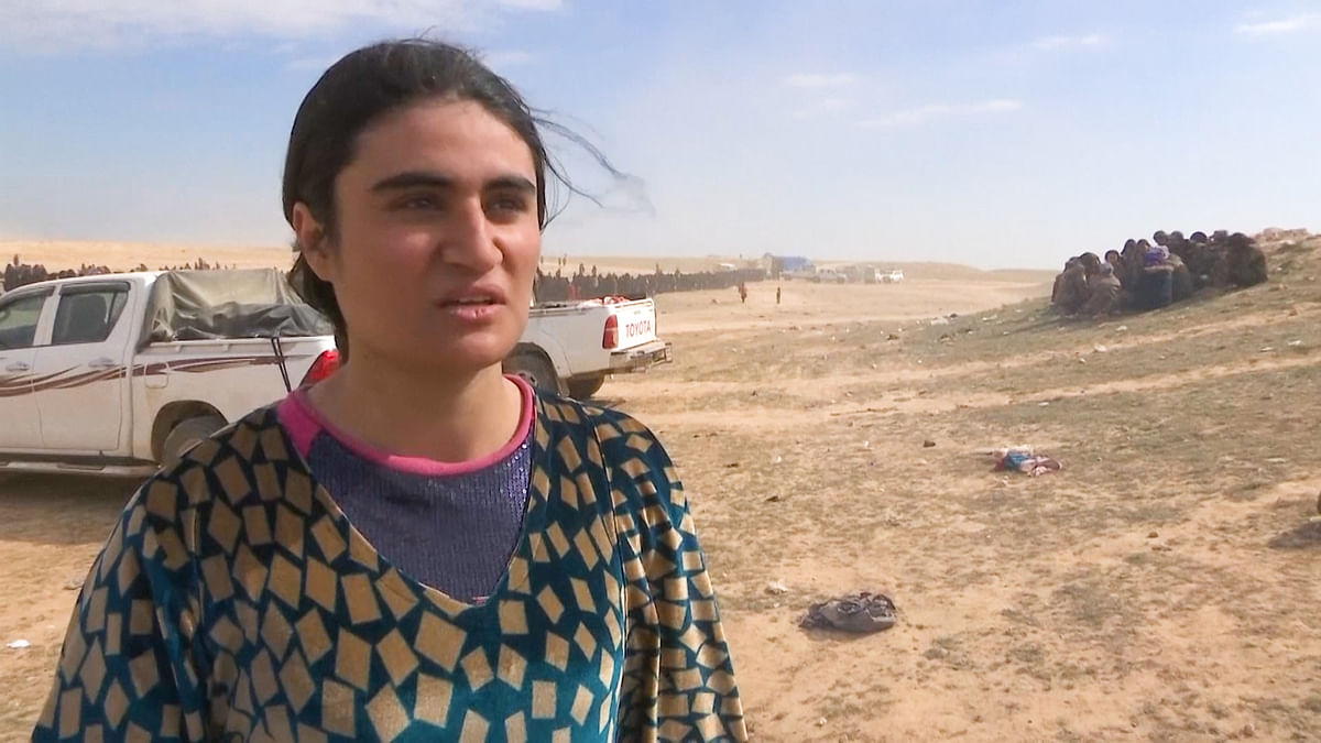 20-Year-Old Yazidi Woman Sold to 10 ISIS Captors in Syria, Freed