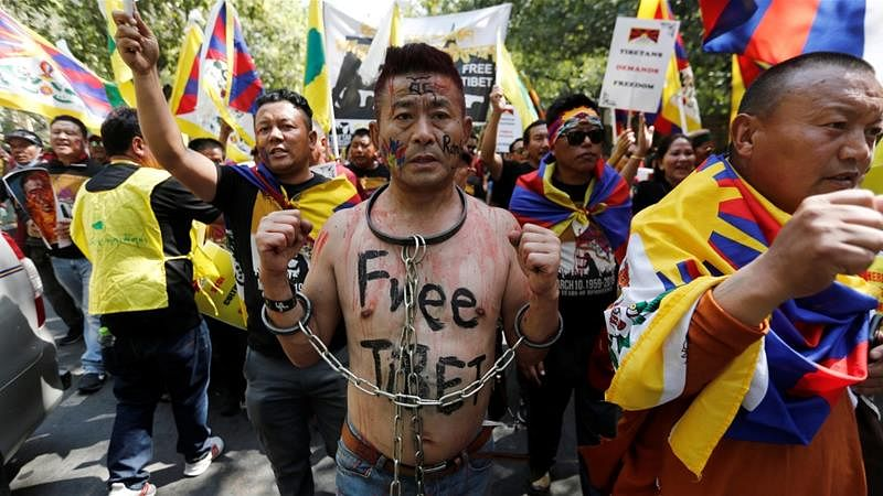 'Free Tibet': Protests in Dharamshala Mark 60 Years of Uprising