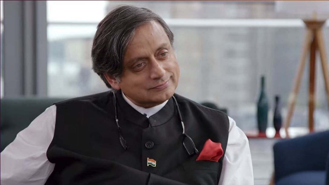 Shashi Tharoor on Patriot Act.