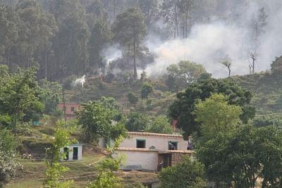 Cross border firing underway in Jammu and Kashmir