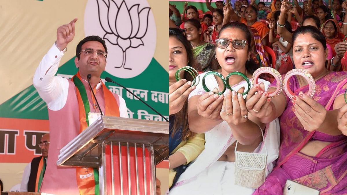 BJP Spokesperson Guarav Bhatia got so furious at Congress' National Media Coordinator Rohan Gupta that he resorted to taking sexist jibes at him.