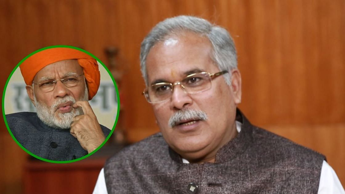 Bhupesh Baghel Sends Mirror to Modi to Look Into His 'Real Face'