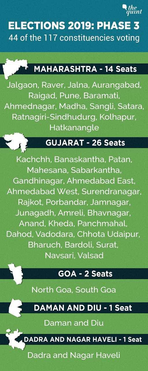 LS Elections: Polling Ends With 64% Voting in Gujarat, 73% in Goa