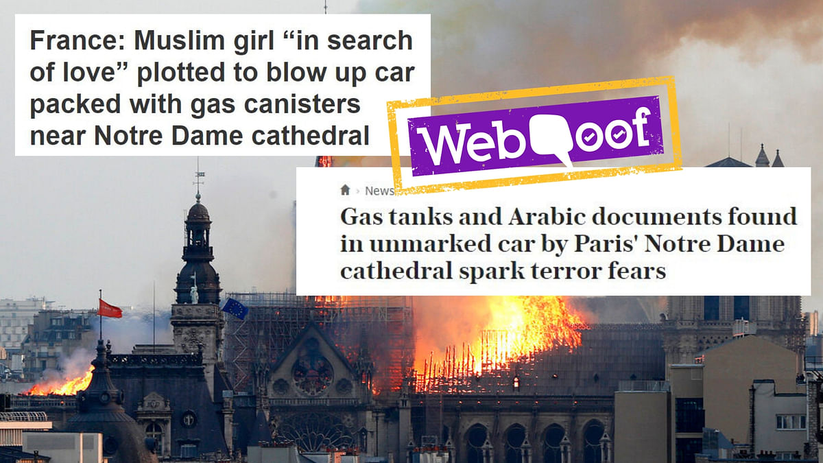 Old, Unrelated Articles Go Viral After Notre Dame Blaze in France