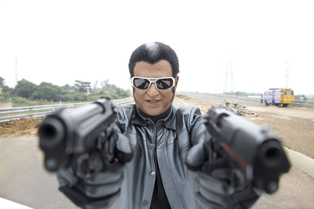 Rajinikanth in <i>Robot.</i>