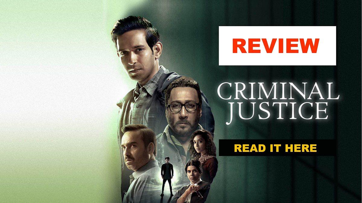 <i>Criminal Justice </i>is directed by Tigmanshu Dhulia and Vishal Furia.