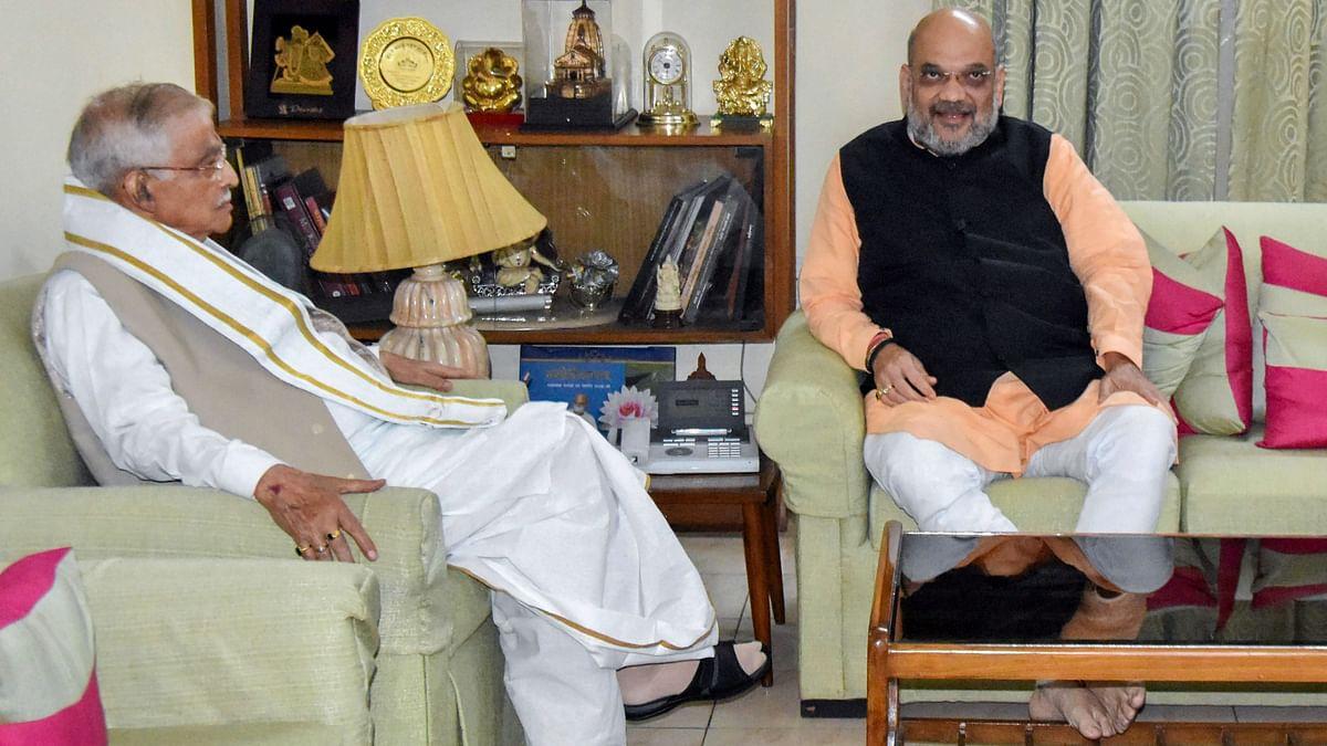 After Refusing Tickets, Amit Shah Meets Veterans Joshi & Advani