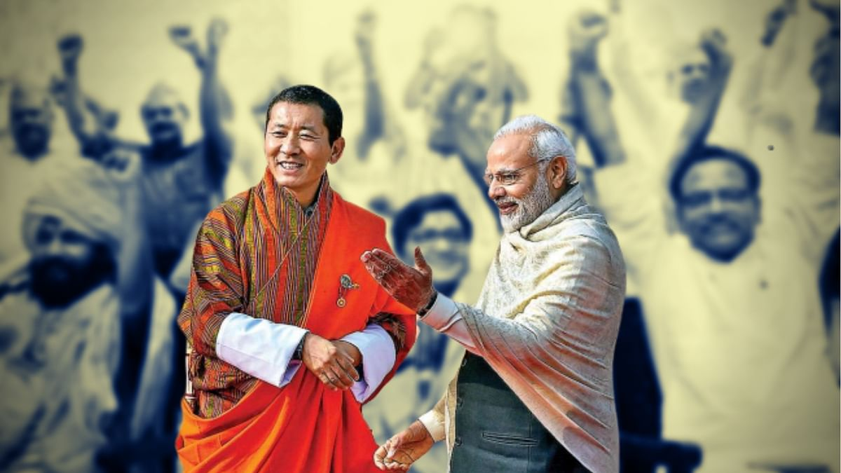 India, as a secular nation, should perhaps try and emulate Bhutan by drawing a line between politics and religion.
