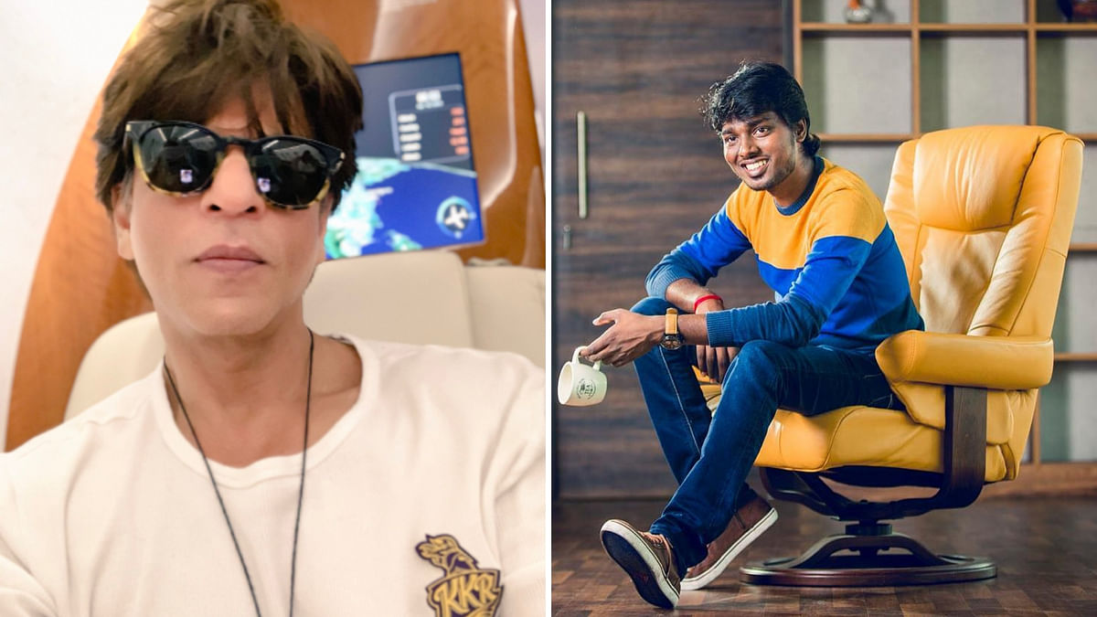 Shah Rukh Khan and Tamil Director Atlee to collaborate on a future project.