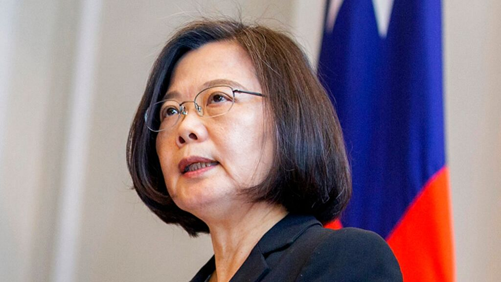 Taiwan Protests China Jets Crossing Center of Taiwan Strait