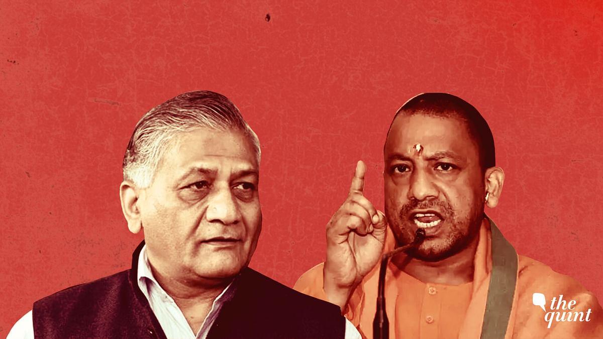 VK Singh Denies Calling Yogi 'Traitor' Over 'Modi Ki Sena' Remark