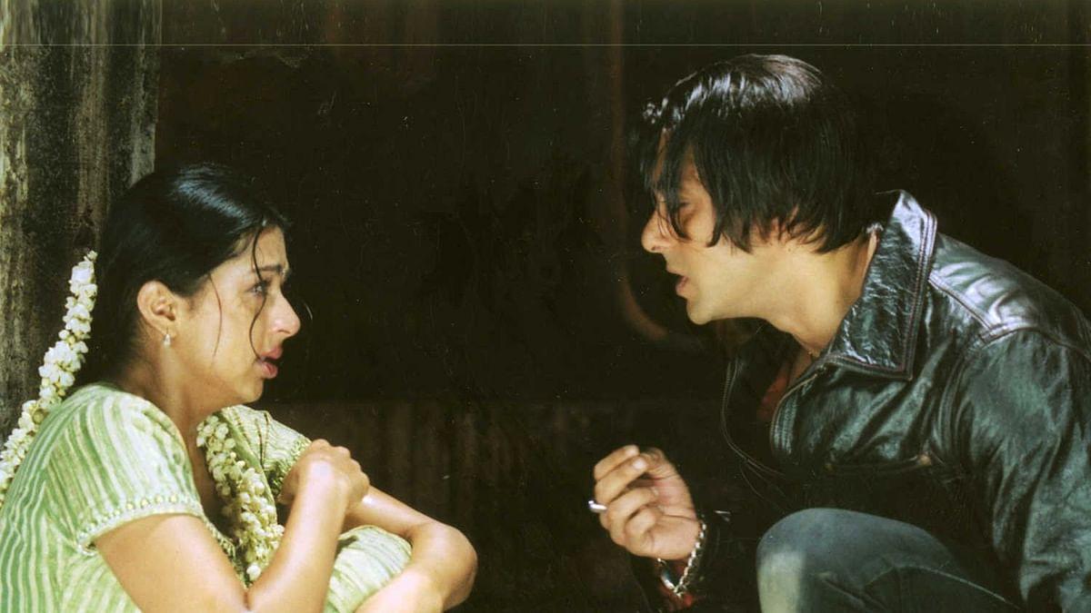 Salman Khan and Bhumika Chawla in <i>Tere Naam</i>.