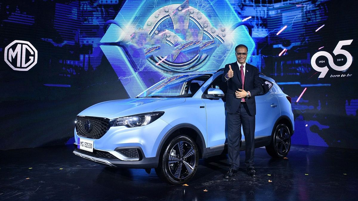 The MG ZS EV will be the company's first electric SUV for India.