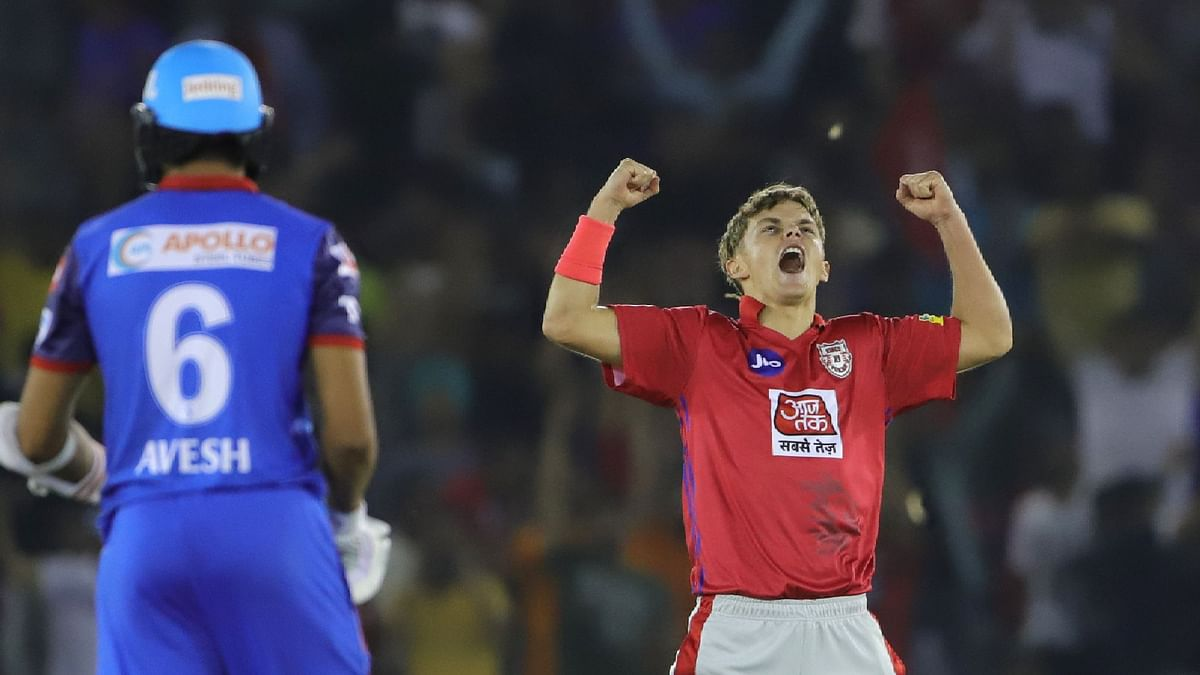 Curran became the youngest bowler to take a hattrick in IPL history.