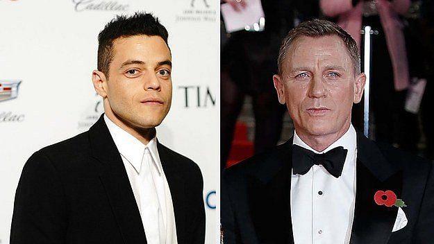Rami Malek Joins Daniel Craig as Villain in Bond 25