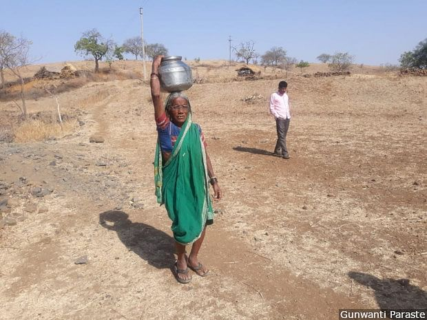 In India's Richest State, Drought & Farm Crisis Arrive Early