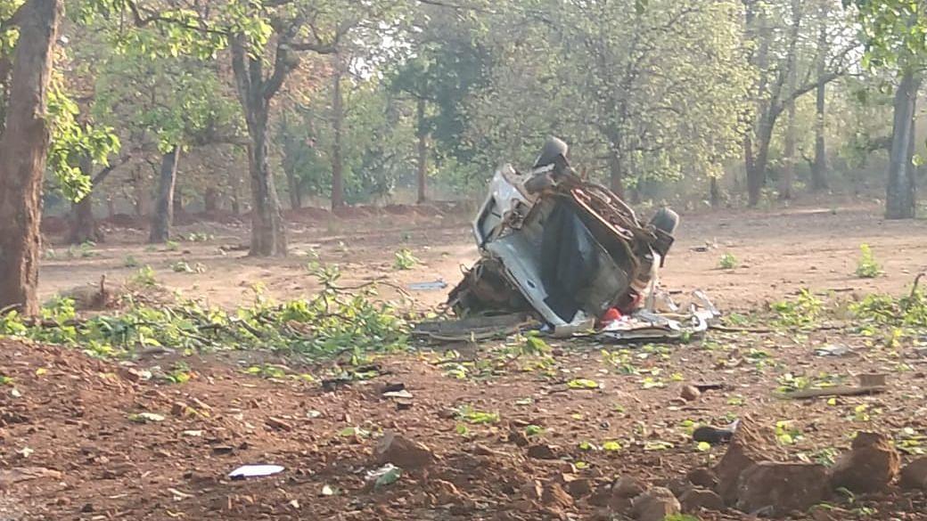 Mastermind of April Dantewada Naxal Attack Shot Dead in Encounter