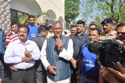 Over 45% vote in Uttarakhand till 3 p.m.