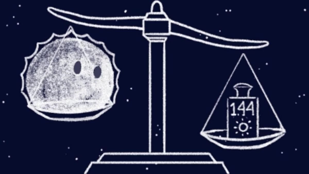 Google Doodle illustrates one of the most important of all of S. Chandrasekhar's contributions to our understanding of stars and their evolution: The Chandrasekhar limit.