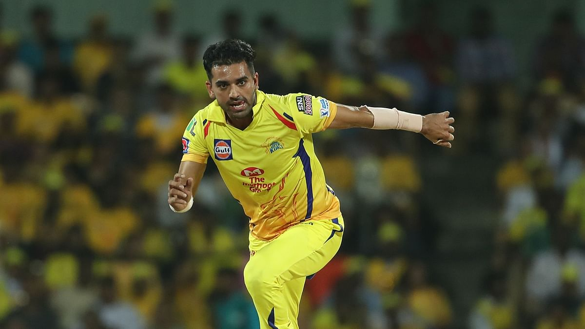 26-year old Deepak Chahar has been in fine form for the yellow army this season