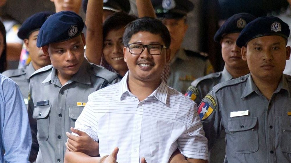 Reuters Journalists Win Pulitizer from Jail for Rohingya Report