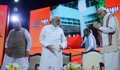 VVIP voters in Gandhinagar: Modi, Amit Shah, Advani
