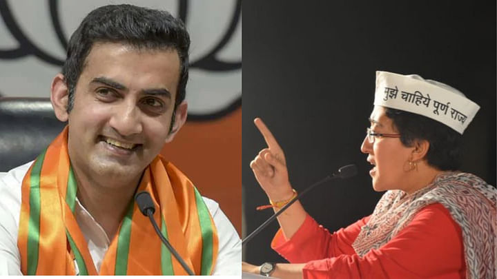 Big Battle in East Delhi As BJP Pits Gambhir Against AAP's Atishi