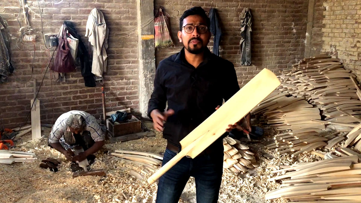 In Meerut, Unsold Bats Tell A Tale of  Simmering Anger with GST