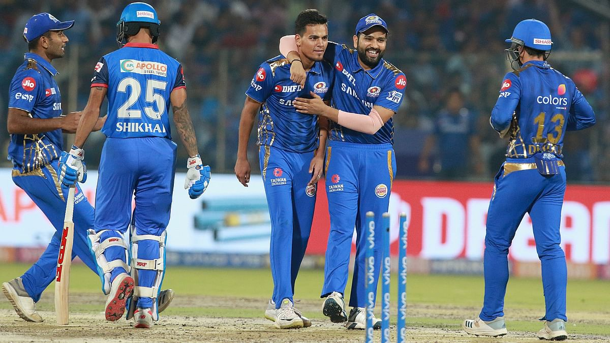 Rahul Chahar has been the go-to bowler for Rohit Sharma this season at Mumbai Indians.
