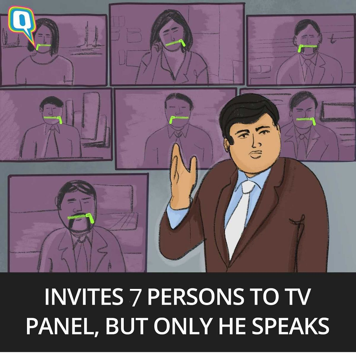 The Adarsh TV Anchor: What He Thinks Like, Acts Like & Sounds Like