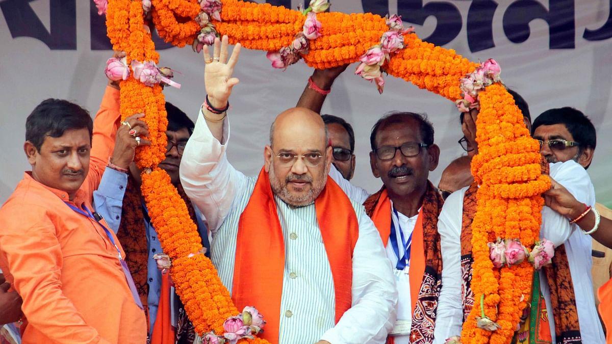 PM Modi Sent 'His Air Force' to Destroy Terrorists: Amit Shah
