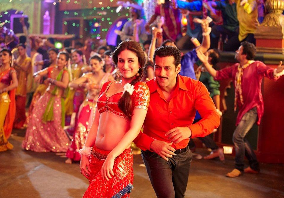 Salman with Kareena Kapoor in the song 'Fevicol Se' from <i>Dabangg 2</i>.&nbsp;