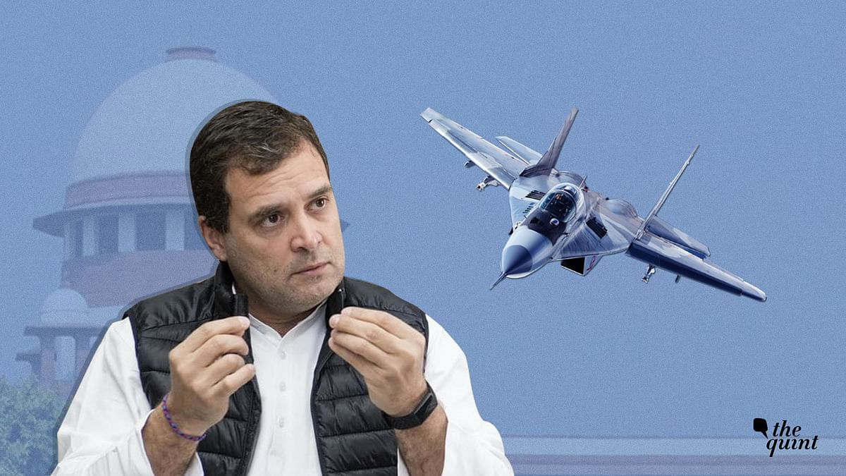 Rahul Must Apologise: BJP Protests at Cong HQ Over Rafale Remarks