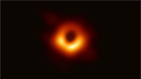 First-Ever Black Hole Image Revealed, And It's a 'Monster'