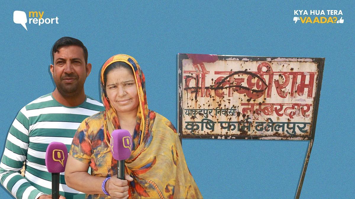 Kya Hua Tera Vaada: 'No Vikas', Says UP Village Boycotting Polls
