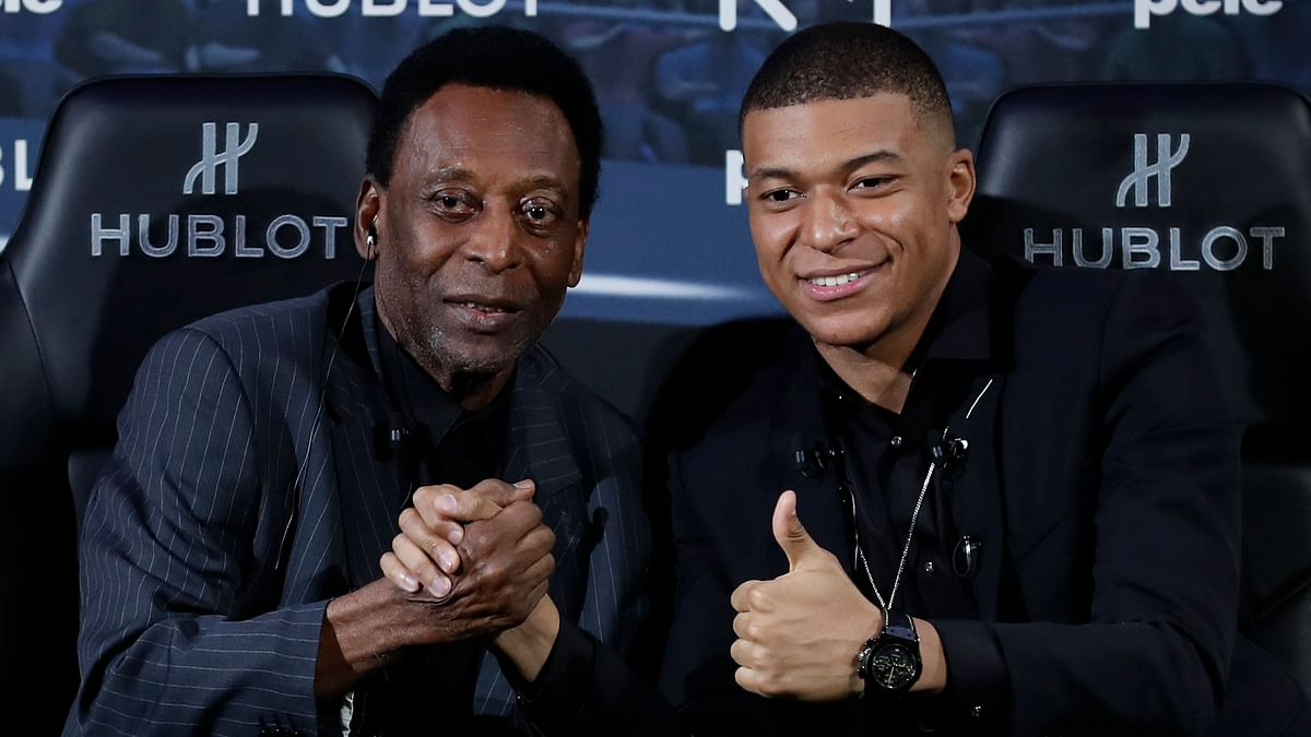 'You Can Reach 1,000 Goals', Pele Tells Mbappe