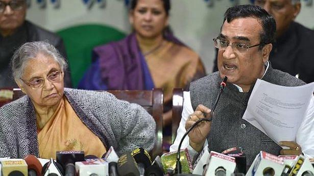 Congress Releases Delhi List, Names Sheila Dikshit, Ajay Maken