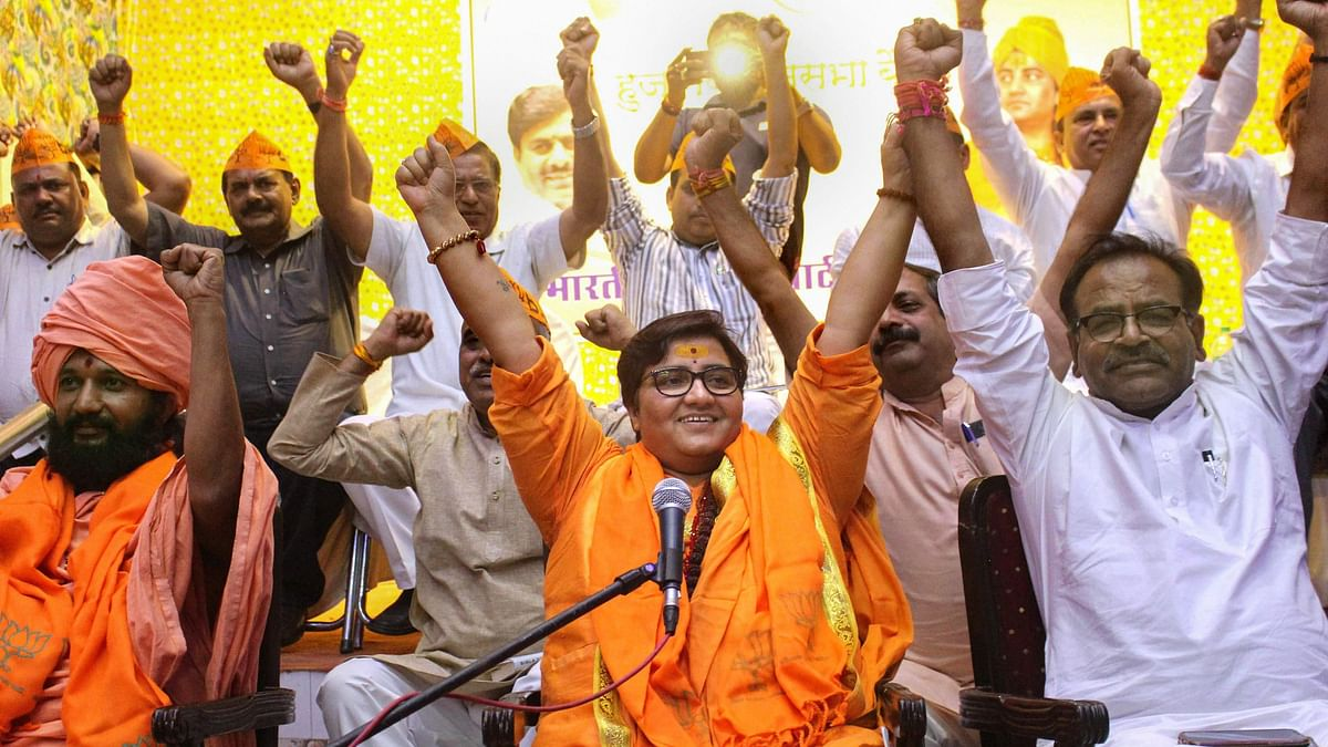 Pragya Axed From Defence Panel, Denies Remark Was About Godse