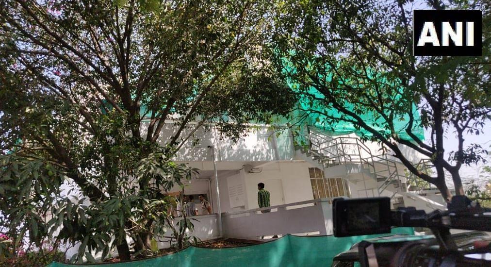 I-T raid at the residence of Praveen Kakkar in Bhopal.