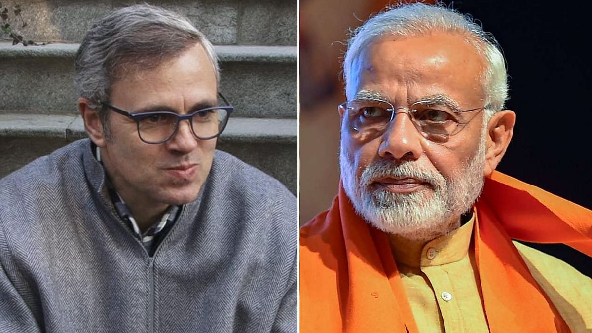 PM Lauds Omar Abdullah for Social Distancing After Uncle's Death