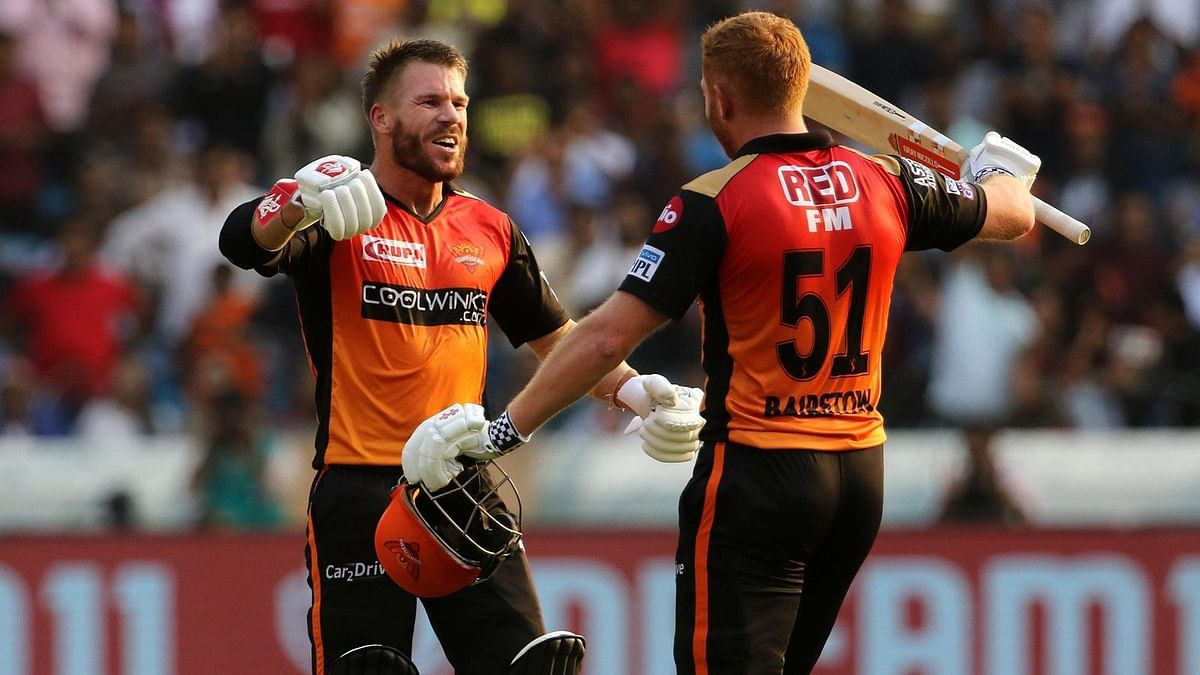 Warner and Bairstow both struck centuries against RCB.