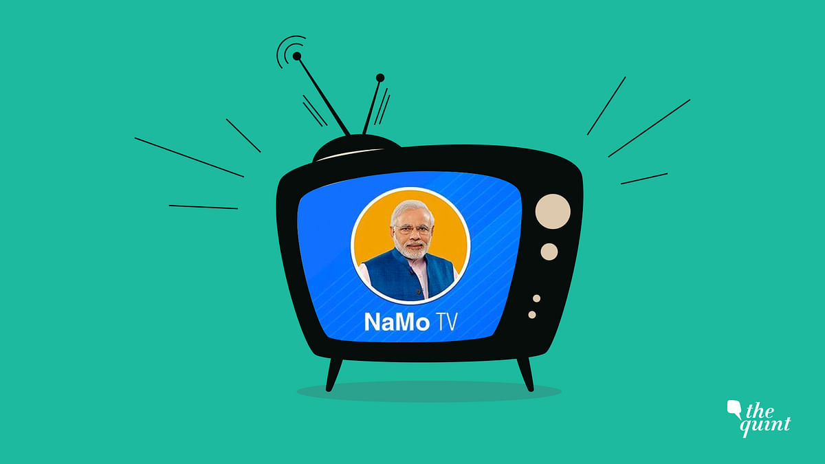 NaMo TV Will Have to Follow Silence Period as Per Election Law: EC