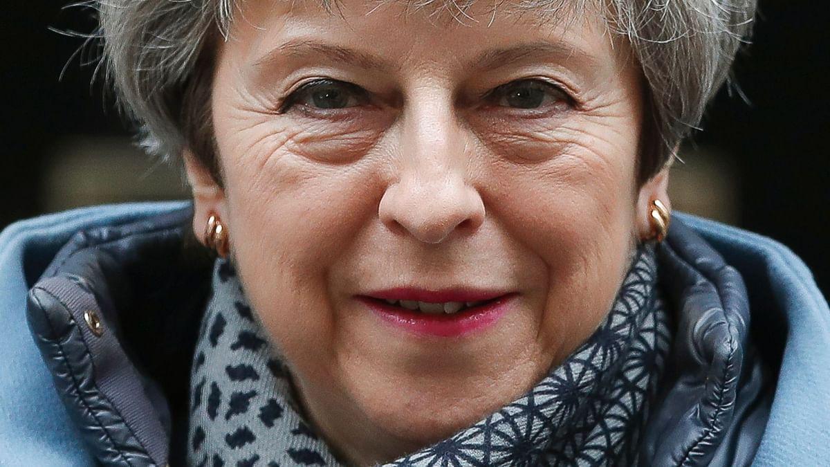 British PM Theresa May Issues 'Stark' Warning of No Brexit at All
