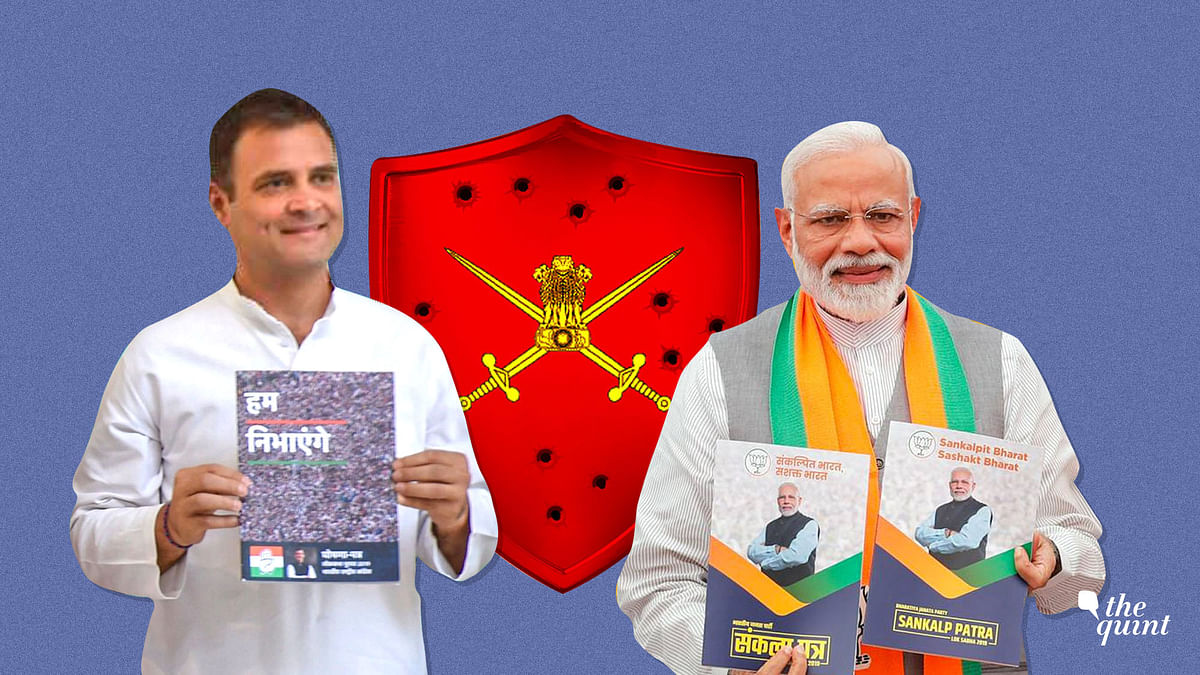 Cong, BJP Manifestos on National Security: Pacifism vs Jingoism