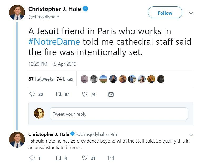 Watch Out for False Information On the Notre-Dame Fire