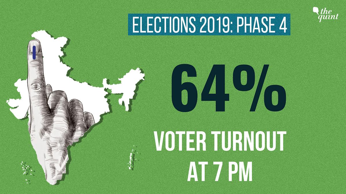 Phase 4 Lok Sabha Polls: 64% Voter Turnout in 72 Constituencies