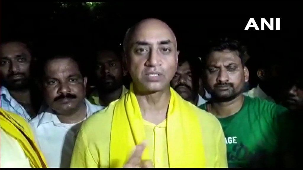 The Income Tax department raided the residence of Galla Jayadev, Telugu Desam Party (TDP) MP from Guntur late on Tuesday night, 9 April.