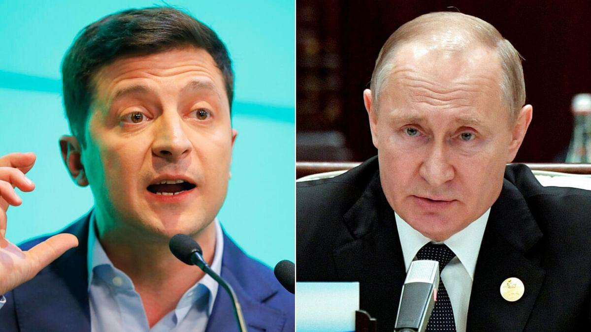 Putin Raises Possibility of Meeting Ukraine Leader  Zelenskiy