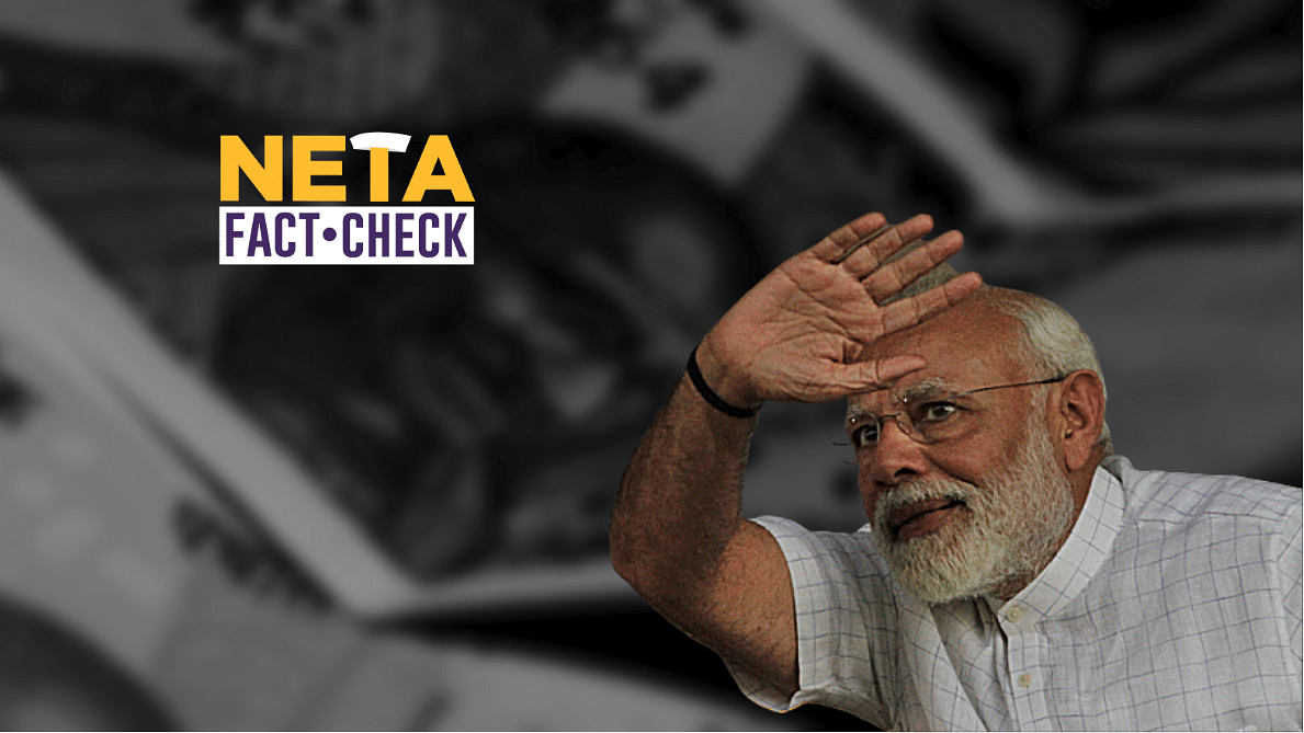 Did PM Modi promise that Rs 15 lakh will be credited in the bank accounts of all Indians?