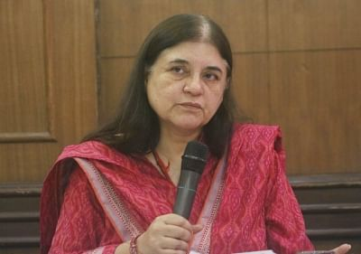 Row as Maneka asks Muslims to vote for her or else...